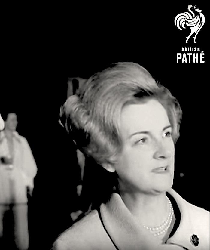 Claire LEGGE QUILL 1969 Madame Tussauds Battle of Britain
