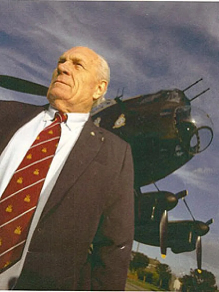 Flying Officer Ray Grayston