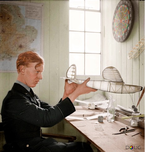 Ginger LACEY colourised