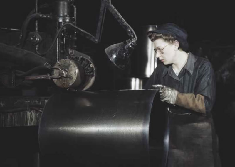 WW2 Female factory workers