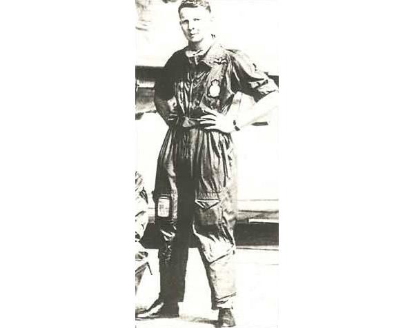 Flt Lt Alan Pollock in 1959 while serving at RAF Sylt