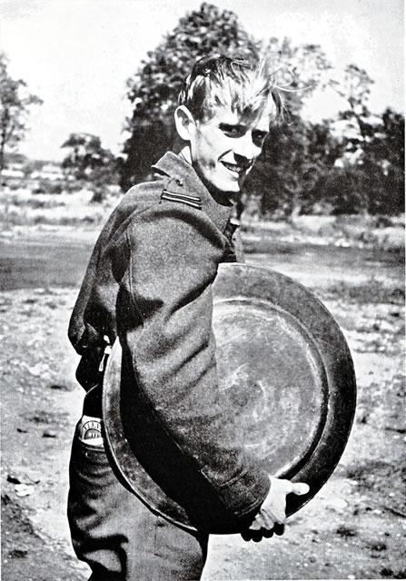 Svein Heglund in the United Kingdom in the Second World War (Public domain).